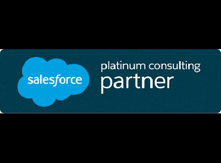 Logo Salesforce platinium consulting partner